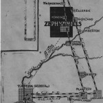 October 5, 1911 Map of Zephyrhills