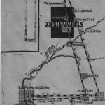 October 5, 1911 Map of Zephyrhills