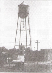 Photo of water tower provided courtesy of  Jeff Miller from the West Pasco Historical Society,