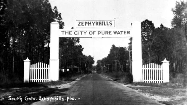The Zephyrhills Historical Calendar cover
