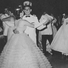 ZHS Prom King and Queen, 1964