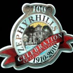 Zephyrhills Centennial Window Cling