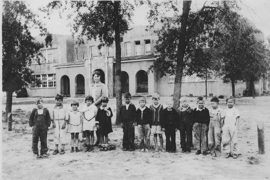 The second Zephyrhills school building was erected in 1926 at the corner of 10th Avenue and 10th Street, the same location as Raymond B Stewart Middle School today. The last vestiges of this school were torn down in the recent renovation of RBSMS.