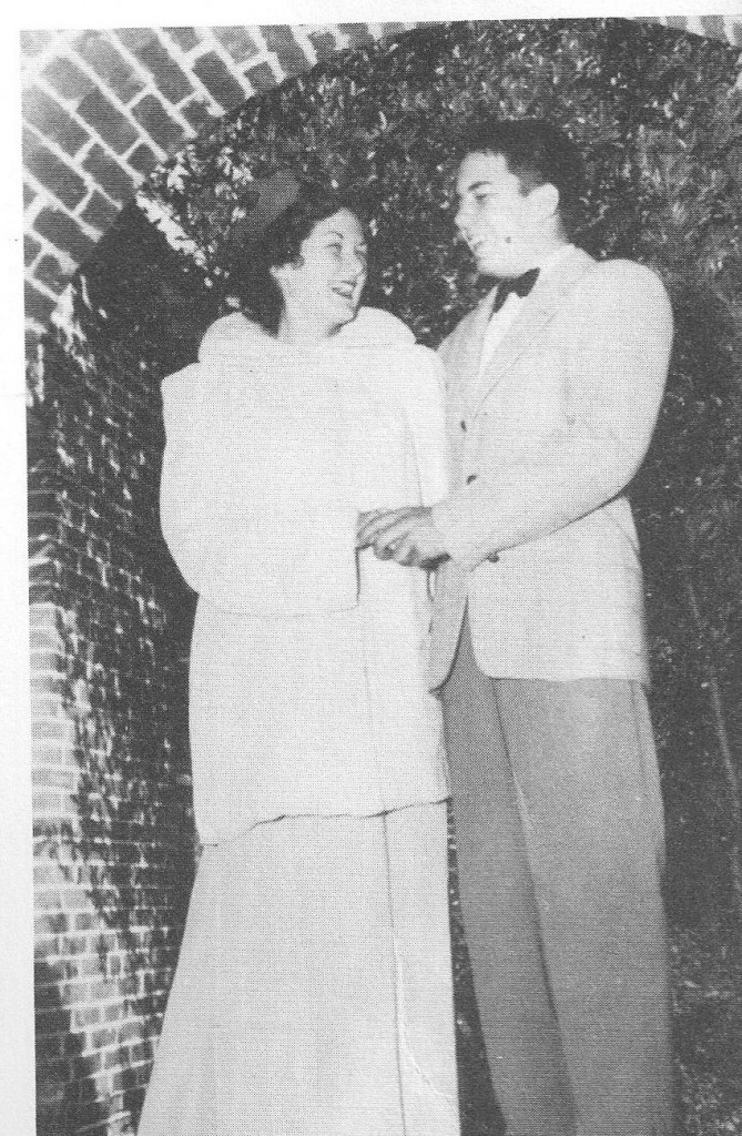 Zephyrhills High School's 1951 Royalty were Homecoming Queen Joan Johnson, and Homecoming King Billy Richard