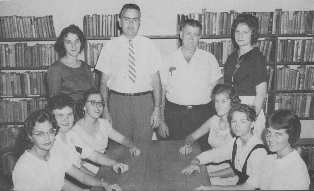 Group photo from 1961, courtesy of ZHS included Susan Gill, Judy Deen, Barbara Russ, Linda Graeber, Charles Henderson, James Turner, AP, Margaret Ann Johnson, Virginia Hauff, Linda Allen and Leslie Davis