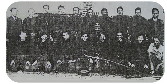 Members of Zephyrhills High School's inaugural football team that played in 1941