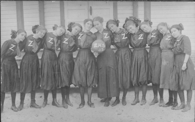 1912 ZHS girls