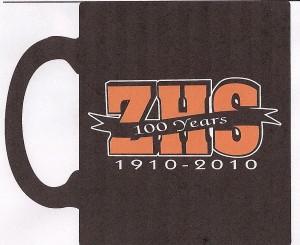ZHS Centennial mug