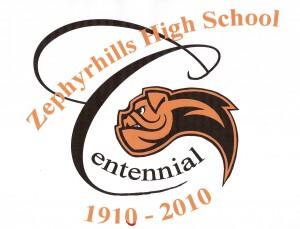 ZHS Centennial T-shirt Logo